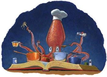 summer reading octopus