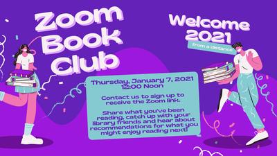 January 2021 Zoom Book Club