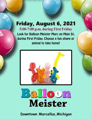 Balloon Meister at Columbian Park