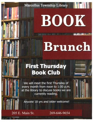 Book Brunch - WEDNESDAY