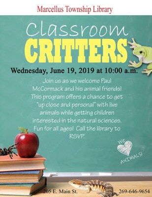 Classroom Critters