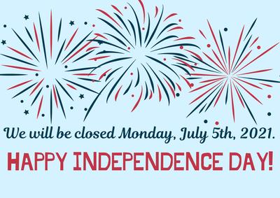 Closed July 5, 2021.