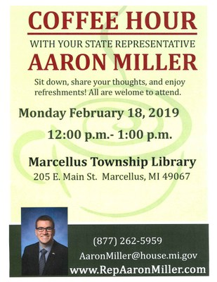 Coffee Hour with Your State Representative
