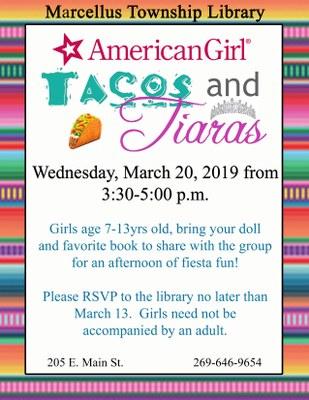 American Girl Tacos & Tiaras