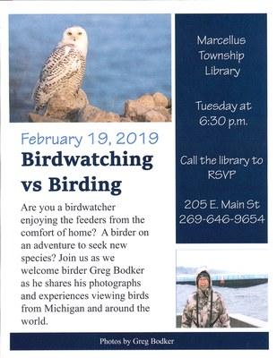 Birdwatching vs. Birding