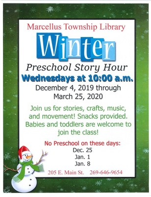 Winter Preschool Story Hour