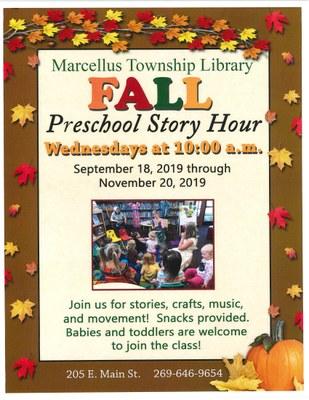 Fall Preschool Story Hour