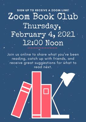 February 2021 Zoom Book Club