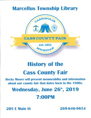 History of the Cass County Fair