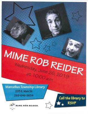 Mime Rob Reider