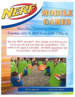 NERF Mobile Games