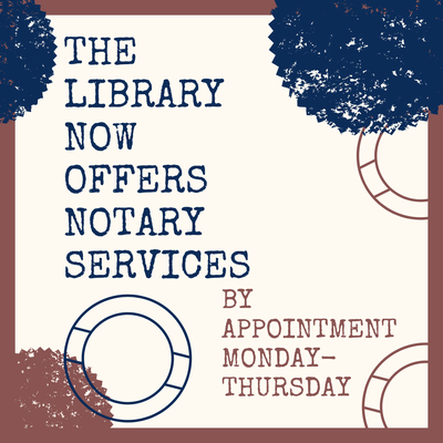 Notary Services Now Available at No Cost