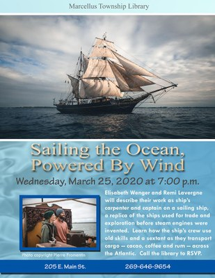 Sailing the Ocean, Powered by Wind