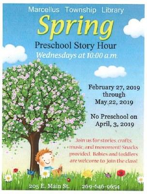 Spring Preschool Story Hour