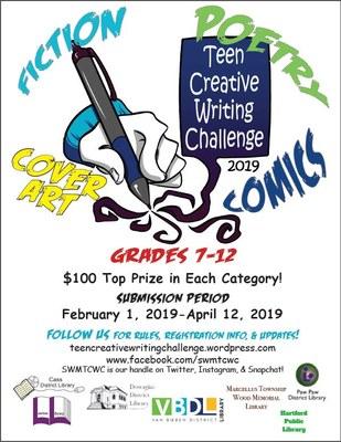 SW Michigan Teen Creative Writing Challenge - Marcellus Meeting