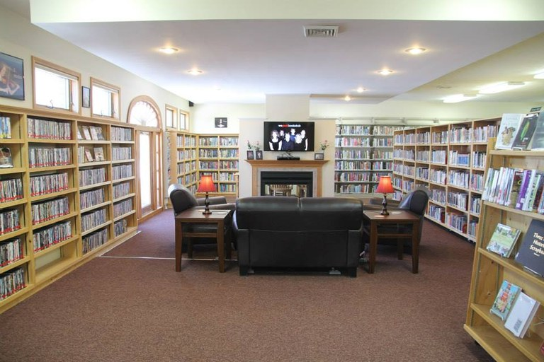 Library After Renovation